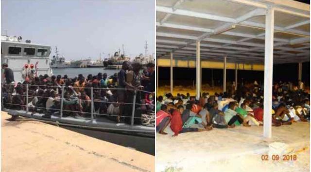 Barcone con 300 a bordo diretto in italia riportato in libia: naufragio fantasma