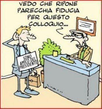 1 italiano su 2 ha trovato lavoro grazie ad una raccomandazione