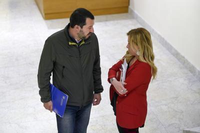 Incontro Salvini-Meloni
