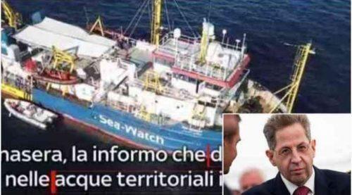 """Ex capo servizi tedeschi accusa Sea Watch: attacco preparato contro l'Italia"""""""