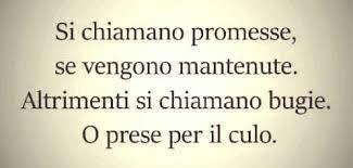 Solo promesse?