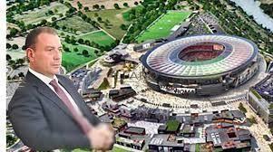 Stadio della Roma a Fiumicino