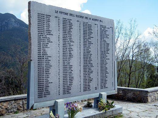 75° anniversario dell'Eccidio di Vinca