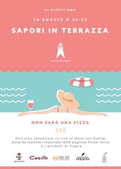 Sapori in terrazza: non sarà una Pizza!