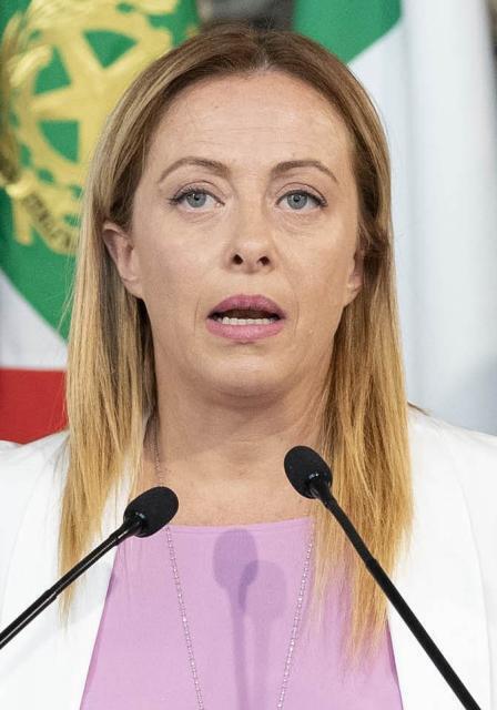 """""""In Europa rappresento la terza via blairiana di destra"""", dice Giorgia Meloni"""