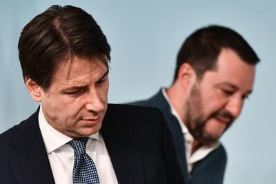 Scontro Conte-Salvini