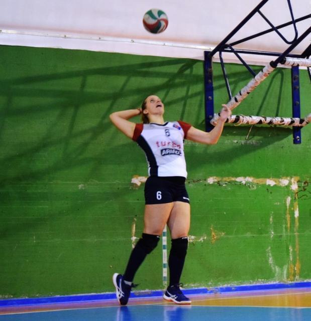 Sonia de Lucia nelle fila della Serie D Dinamo