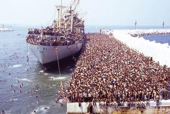 Il trentennale dell'immigrazione illegale