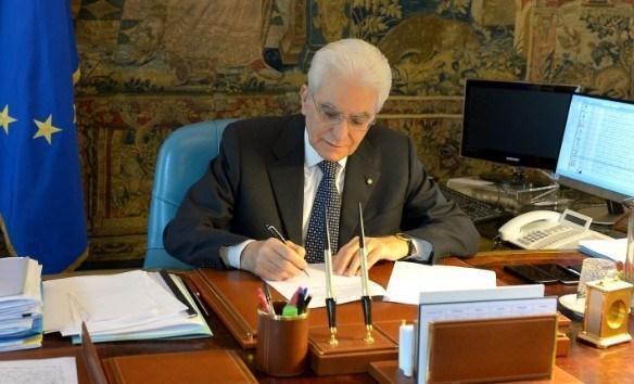 Mattarella, ruolo per l'Italia nella Ue