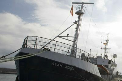 "Allarme Sea Watch: ""Libici minacciano Alan Kurdi"""