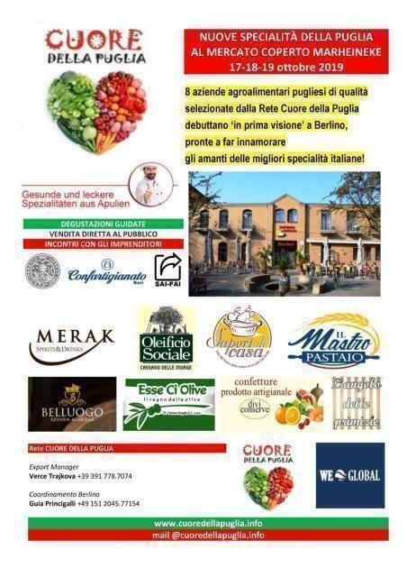 Il viaggio del Cuore della Puglia a Berlino
