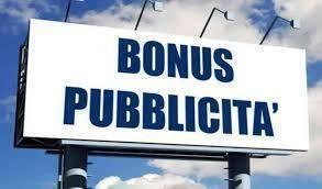 """""""Bonus Pubblicità 2020"""", scade  il 30 settembre 2020"""