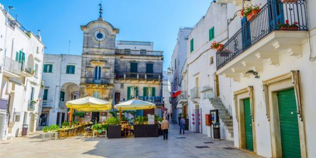 Cisternino 'capitale' dei borghi mediterranei