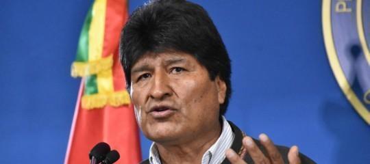 Morales si dimette e annuncia nuove elezioni in Bolivia