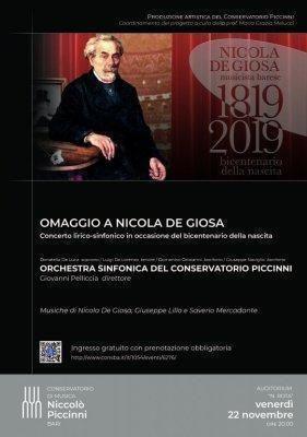 Omaggio a Nicola De Giosa per il bicentenario della nascita