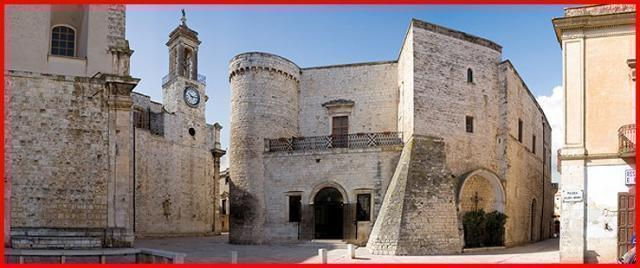 La leggènde de Sanda  Necòle al Castello di Bitritto.