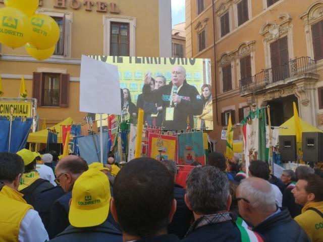 A Roma, insieme, per chiedere al Governo tutela di agricoltori ed allevatori