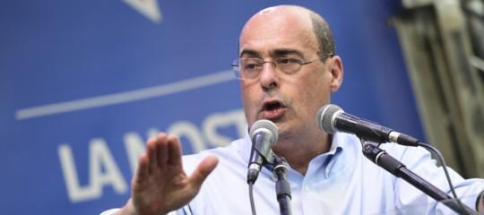 """Noi non abbiamo alcuna tentazione di andare a votare"""", dice Zingaretti"""