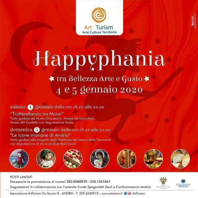 "L'associazione ArtTurism organizza: ""Happyphania"""
