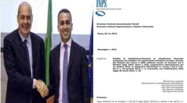 5mila euro ad ogni immigrato: il documento che svergogna Di Maio