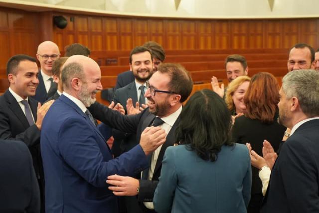 Alfonso Bonafede capo delegazione del M5s nel Governo