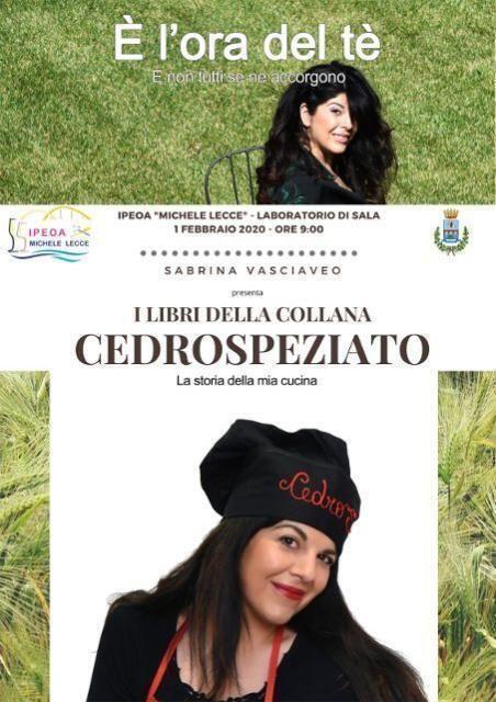 """L' I. P. E.O.A. """"Michele Lecce"""" presenta l'evento: """" Incontro con l'autore."""""""