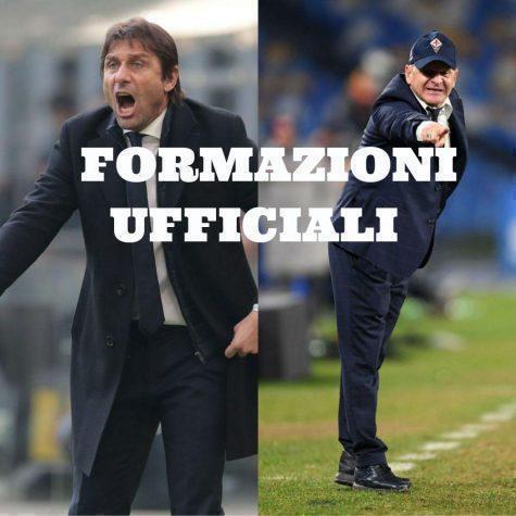Coppa Italia, Inter – Fiorentina: ecco le formazioni ufficiali