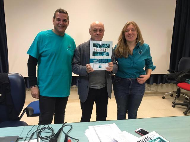 """I volontari di Dico NO alla droga presenti all'IPSIA """"Archimede"""" di Barletta"""
