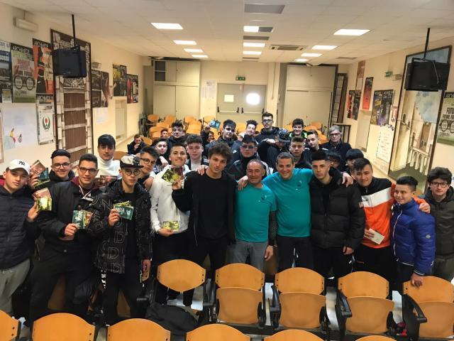 L'IPSIA di Barletta e i volontari di Dico NO alla droga Puglia insieme contro le sostanze stupefacenti
