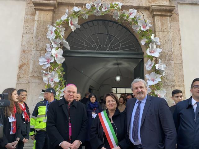 Cittadinanza onoraria di Turi a Arcivescovo di Zara