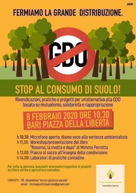 Fermiamo la grande distribuzione. Stop consumo di suolo!