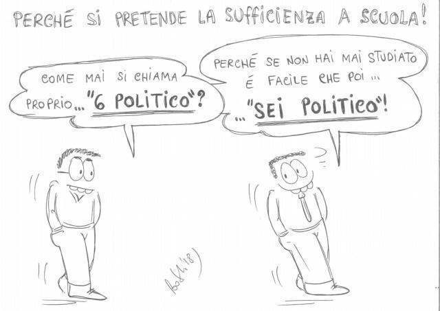 Scuola: no al 6 politico