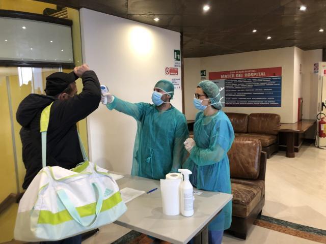 Mater Dei Hospital operativa e sicura