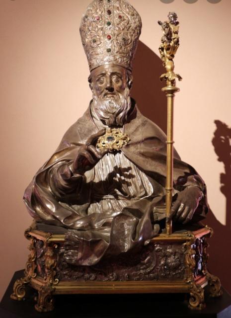 """Scoperta storica """"inedita"""" del busto d'argento di San'Oronzo di Lecce e la peste del 1690-92"""
