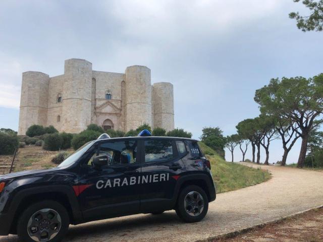 Coronavirus, controlli dei carabinieri nel parco nazionale dell'alta murgia
