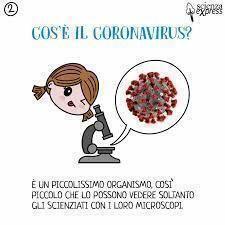 Il corona virus spiegato ai bambini