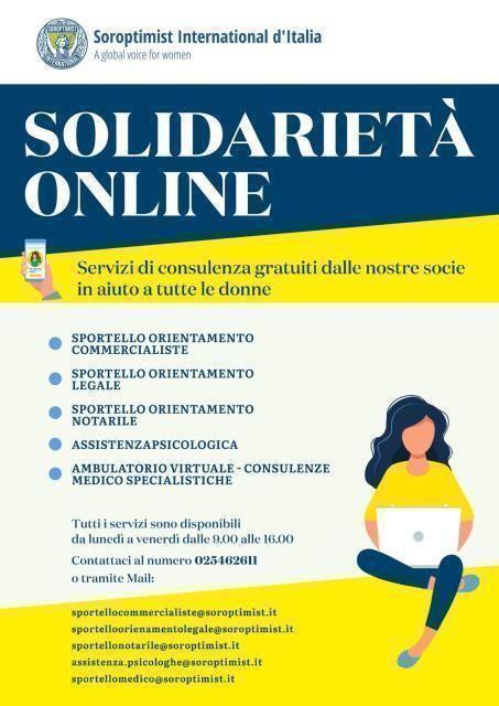 Fase 2 – la solidarieta' e' donna