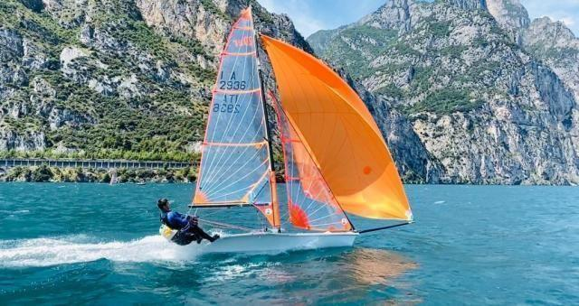 Circolo della Vela Bari. Primo posto tra gli italiani ad arco nella prima regata nazionale 29er