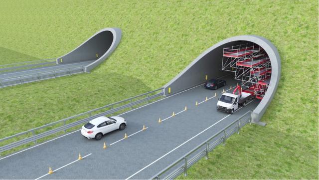 """Code in autostrada per i lavori in corso. Nasce il primo ponteggio """"in movimento"""""""