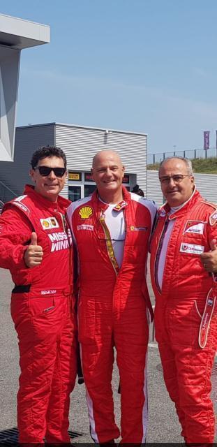 Trofeo Ferrari Club Italia: i pugliesi Camassa, Fabii e Marino vincono ancora