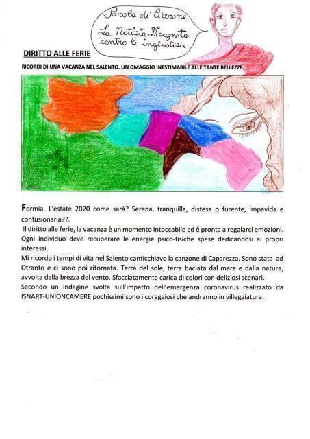 E' un omaggio alla nostra terra di Puglia