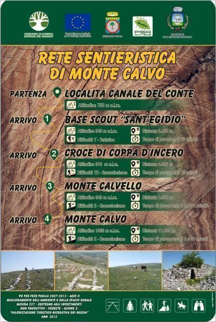 Valorizzazione turistica dei boschi di San Giovanni Rotondo