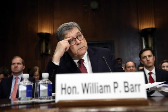 Ag William Barr annuncia 1.000 arrestati, 200 accuse di crimini federali in funzione legenda sweep