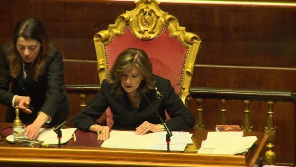 Voli di Stato della Casellati: Codacons presenta esposto alla Corte dei conti