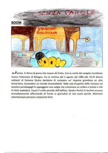 La notizia disegnata: la strage di Bologna