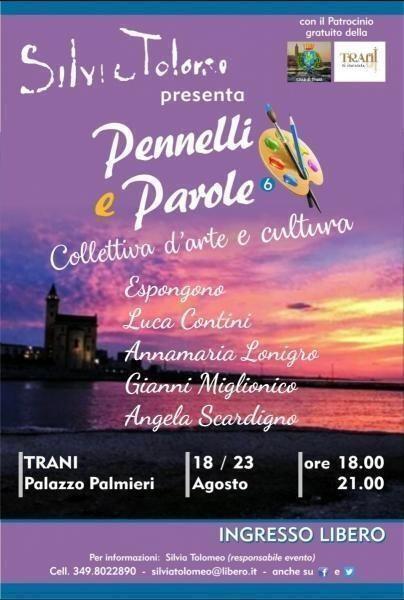 """""""Pennelli e Parole"""" nell'incantevole porto di Trani"""