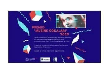 """Tirana: aperto il bando per il premio """"Musine Kokalari"""" 2019 e 2020"""