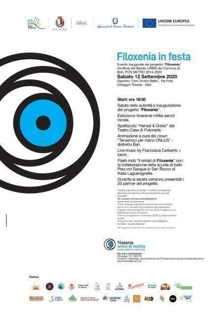 Dico NO alla droga presente all'evento inaugurale del progetto Filoxenia