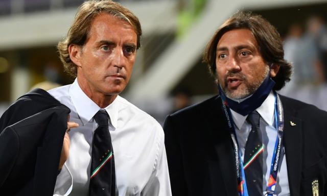 Nations League: L'Italia fa 1-1 con la Bosnia, finisce la serie positiva di Mancini