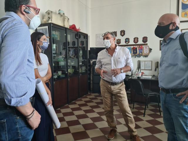Incontro all'Aristosseno di Taranto con l'Assessore Cataldino